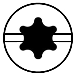 Slotted Hexlobe (Torx)
